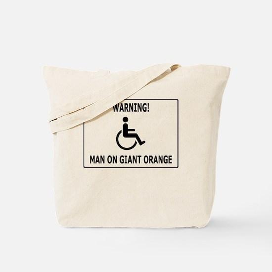 Giant freaking orange Tote Bag