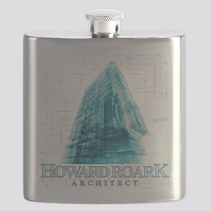 Howard Roark Architect Flask