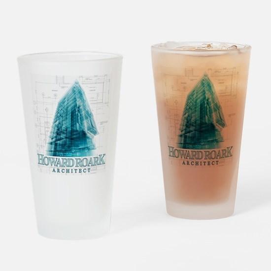 Howard Roark Architect Drinking Glass