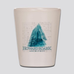 Howard Roark Architect Shot Glass