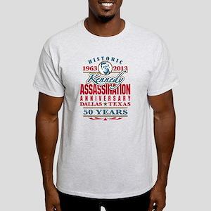 Kennedy Assassination Anniversary 2013 Light T-Shi