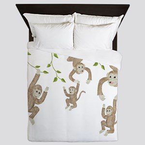 Monkey Queen Duvet