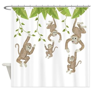 Monkey Shower Curtains