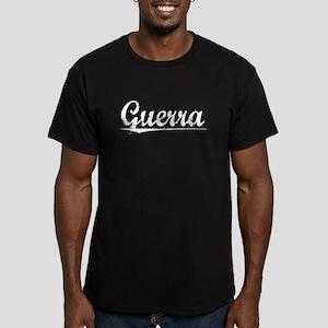 Guerra, Vintage Men's Fitted T-Shirt (dark)