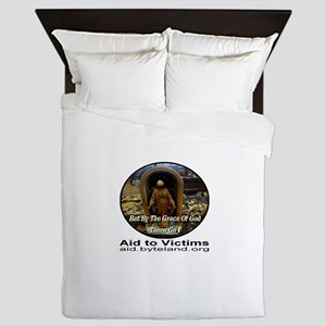 But by the Grace of God there go I Queen Duvet