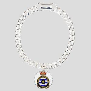 AUSCDT THREE insignia Charm Bracelet, One Charm