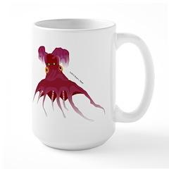 Vampire Squid (Octopus) Large Mug