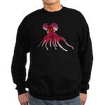 Vampire Squid (Octopus) Sweatshirt (dark)