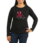 Vampire Squid (Octopus) Women's Long Sleeve Dark T
