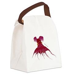 Vampire Squid (Octopus) Canvas Lunch Bag