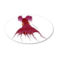 Vampire Squid (Octopus) Wall Decal