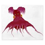 Vampire Squid (Octopus) King Duvet