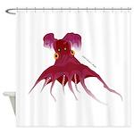 Vampire Squid (Octopus) Shower Curtain