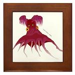 Vampire Squid (Octopus) Framed Tile