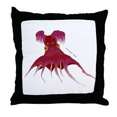 Vampire Squid (Octopus) Throw Pillow