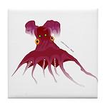 Vampire Squid (Octopus) Tile Coaster