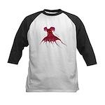 Vampire Squid (Octopus) Kids Baseball Jersey