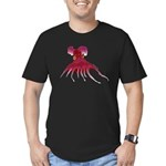 Vampire Squid (Octopus) Men's Fitted T-Shirt (dark