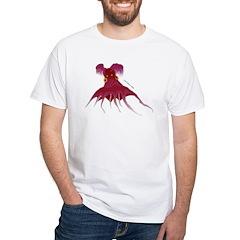 Vampire Squid (Octopus) White T-Shirt
