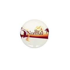 Shes-Normal Mini Button (10 pack)