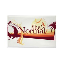 Shes-Normal Rectangle Magnet (100 pack)