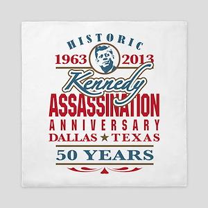 Kennedy Assassination Anniversary 2013 Queen Duvet