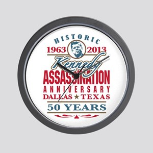 Kennedy Assassination Anniversary 2013 Wall Clock