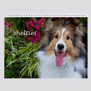 Sheltie! Wall Calendar