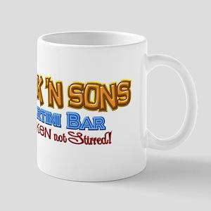 Parkinsons Park N Sons Martini Bar Shaken 3D Mug