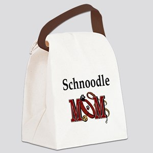 Schnoodle Mom Canvas Lunch Bag