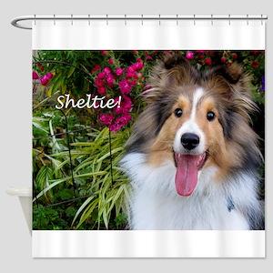 Sheltie! Shower Curtain