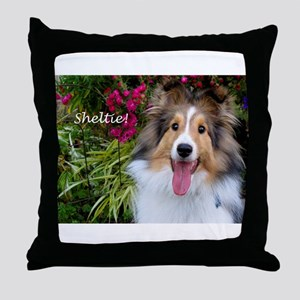 Sheltie! Throw Pillow