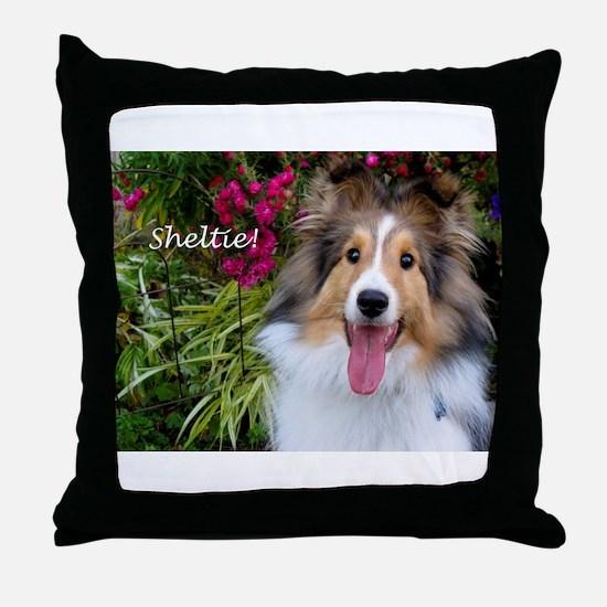 Sheltie! Throw Pillow