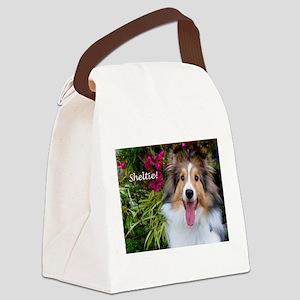 Sheltie! Canvas Lunch Bag