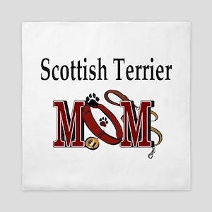 Scottish Terrier Mom Queen Duvet