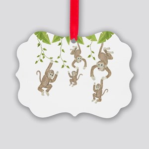 Monkey Picture Ornament