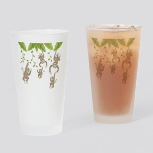 Monkey Drinking Glass