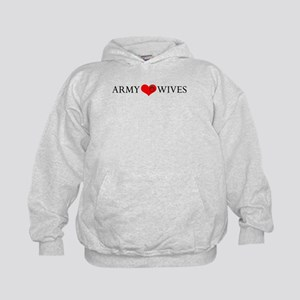 Army Wives Heart and Ring Kids Hoodie