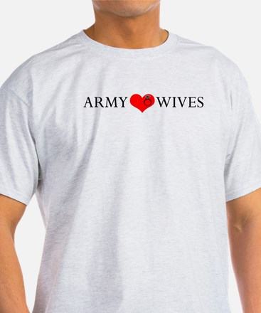 Army Wives Heart and Ring T-Shirt