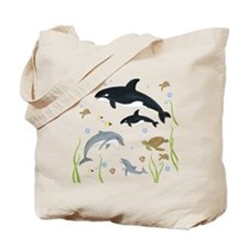 Ocean Animal Tote Bag