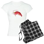 Deep Sea Red Shrimp Women's Light Pajamas