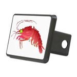 Deep Sea Red Shrimp Rectangular Hitch Cover
