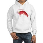 Deep Sea Red Shrimp Hooded Sweatshirt