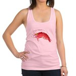 Deep Sea Red Shrimp Racerback Tank Top