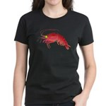 Deep Sea Red Shrimp Women's Dark T-Shirt