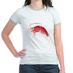 Deep Sea Red Shrimp Jr. Ringer T-Shirt