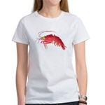 Deep Sea Red Shrimp Women's T-Shirt