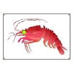 Deep Sea Red Shrimp Banner