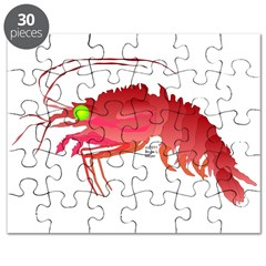 Deep Sea Red Shrimp Puzzle