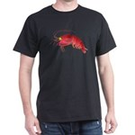 Deep Sea Red Shrimp Dark T-Shirt